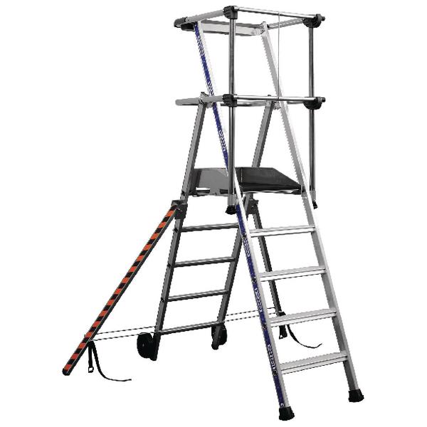 Work Platform 150kg 4 Tread Silver (950mm fixed height work platform) 307570
