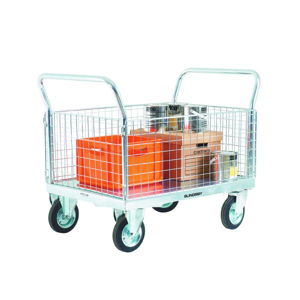 VFM Platform Truck Premium 2 Detachable Mesh Sides 308467