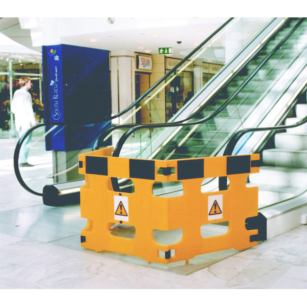 Barrier/Sign System Set of 3 Frames Yellow (Pack of 3) 309608