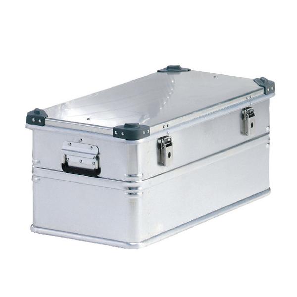 Container With Lid 75kg Capacity Aluminium 309693