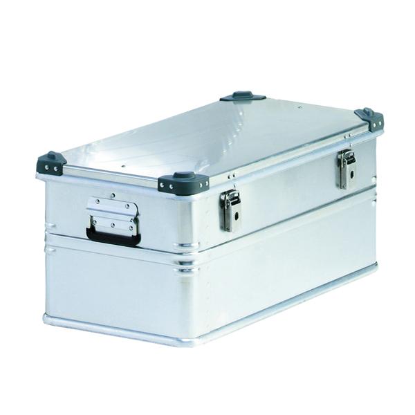 Container With Lid 100kg Capacity Aluminium 309694