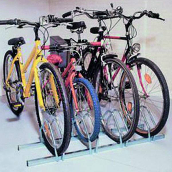 Image for Cycle Rack 4-Bike Capacity Aluminium 309714