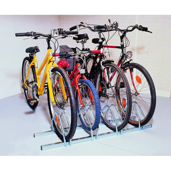 Image for Cycle Rack 3-Bike Capacity Aluminium 309715
