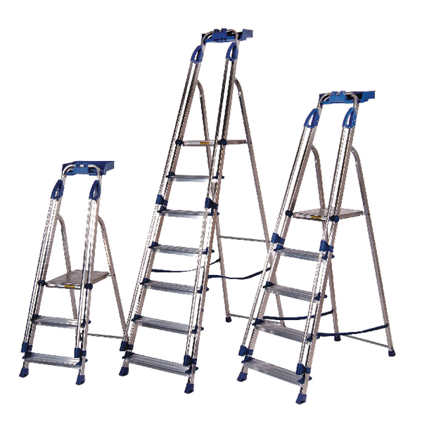 Blue Seal Ladder 6 Tread Aluminium 311496