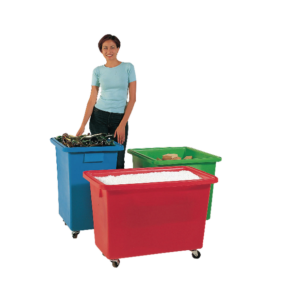 580X410X700mm Red Mobile Nesting Container (Capacity of 150 litres) 328222