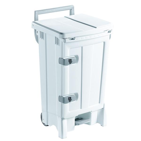 Mobile Hygiene Bin 90 Litre White 329128