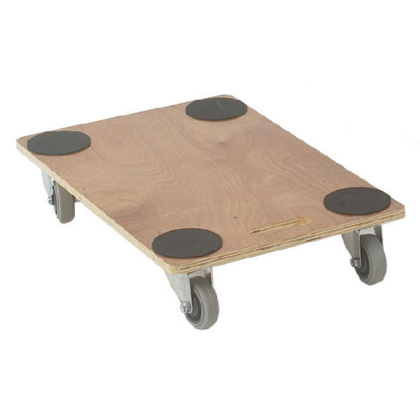 VFM Brown Economy Wooden Dolly 680x450x115mm 329331