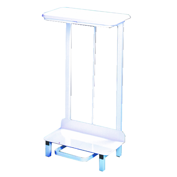 Pedal Operated Sack Holder Freestanding 92 Litre White 330310