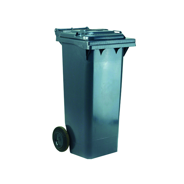 Wheelie Bin 140 Litre Grey (W480 x D555 x H1070mm) 331151