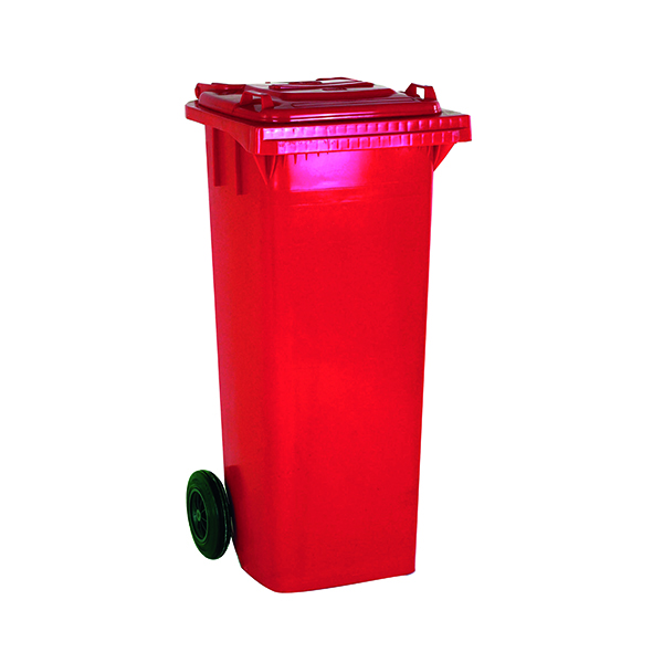 Wheelie Bin 360 Litre Red (W620 x D860 x H1070mm) 331226