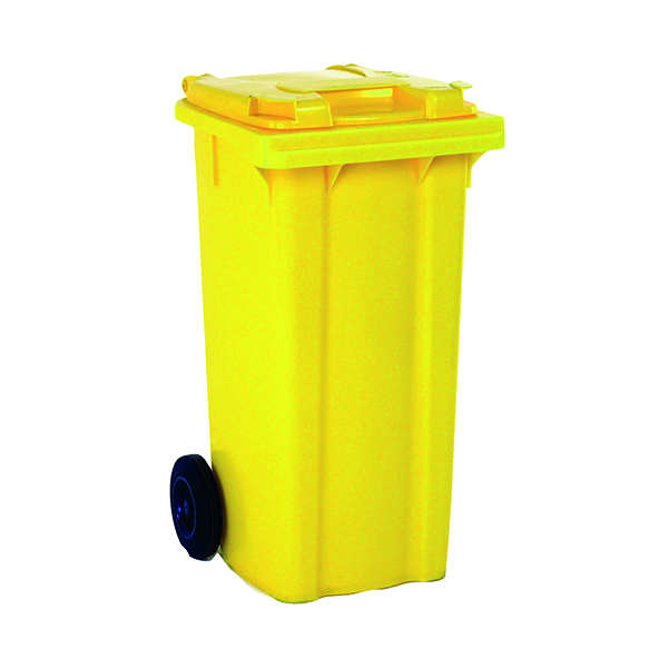 Wheelie Bin 80 Litre Yellow (W445 x D525 x H930mm) 331275