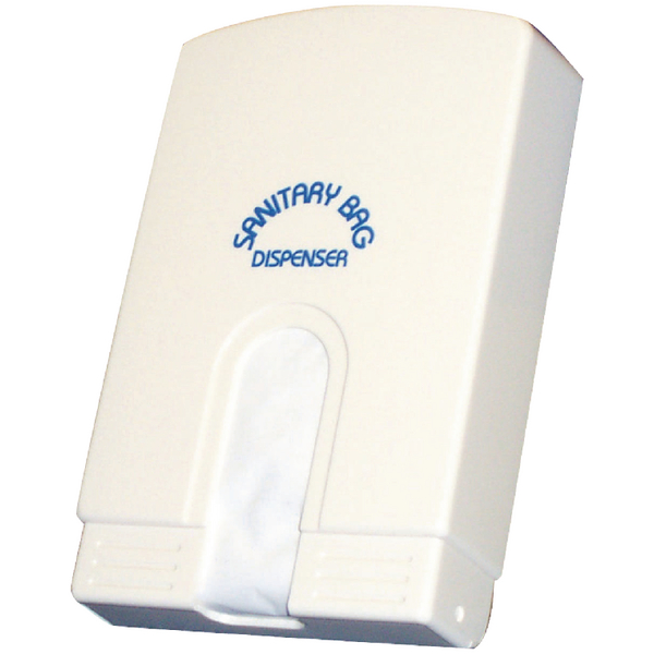 Washroom Sanitary Bag White (Pack of 75) 356974