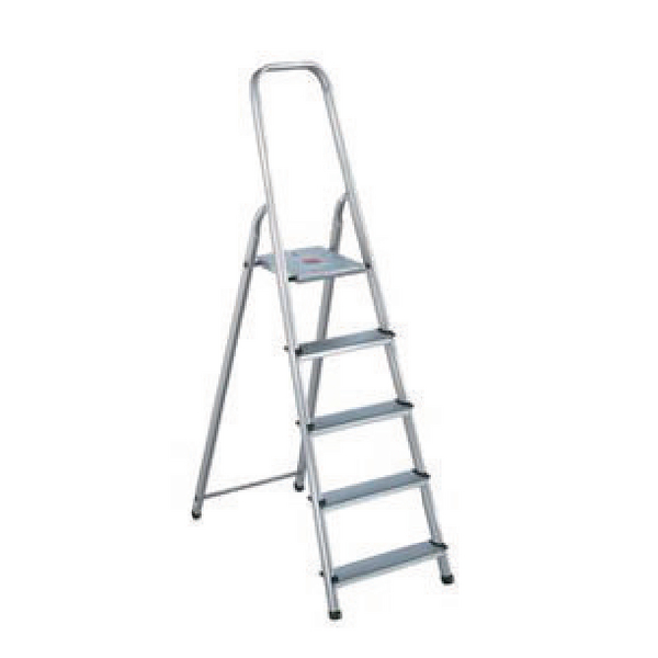 Aluminium Step Ladder 6 Step (Platform sits 1190mm Above the Floor) 358740