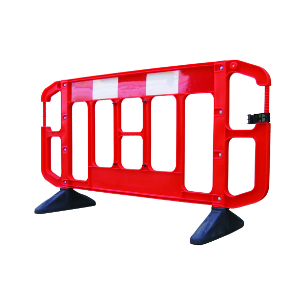 Titan 2 Metre Barrier Red 358784 (Pack of 2)