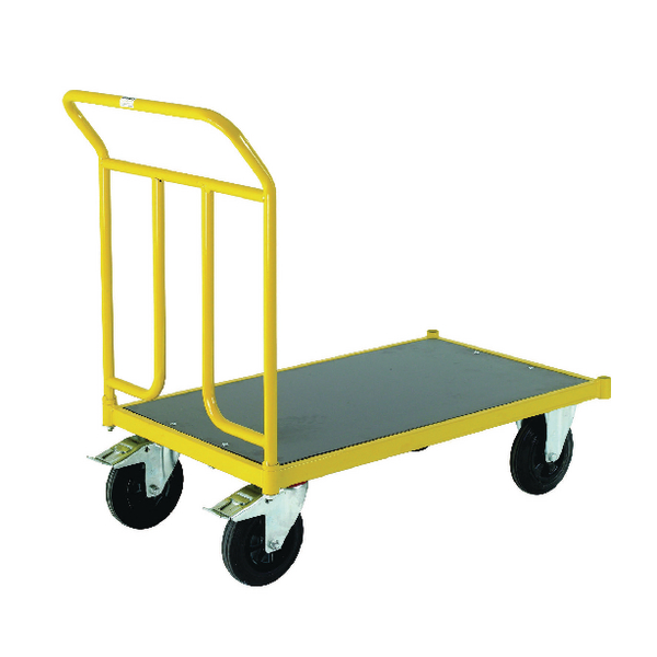 Single-Ended Platform Truck 400kg Capacity (W600 x D1000 x H1020mm) 371755