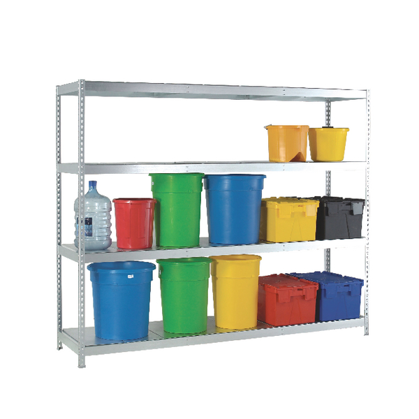 Image for Heavy Duty Galvanised Additional Shelf 1800x600mm Orange/Zinc 378890