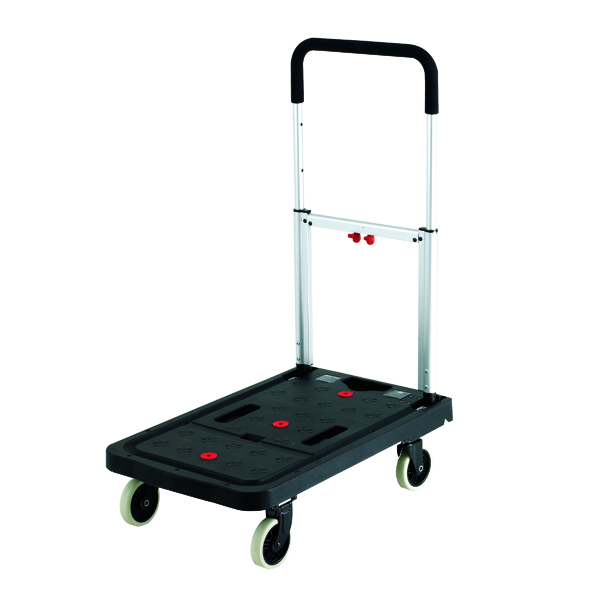Folding 120kg Platform Truck Black (W410 x D680 x H920mm) 380088