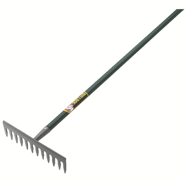 Image for Evergreen Garden Rake 54 inch Aluminium Grey/Green 380364