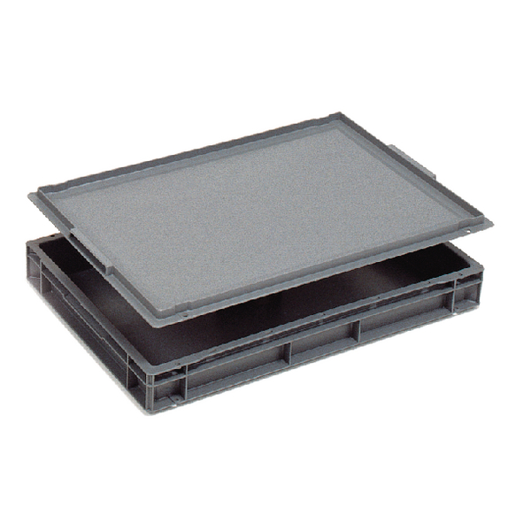 Plastic Lid For 600x400mm Grey 308697