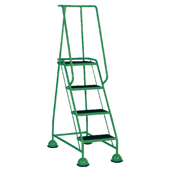 Green 4 Tread Step Ladder (Load capacity: 125kg) 385140