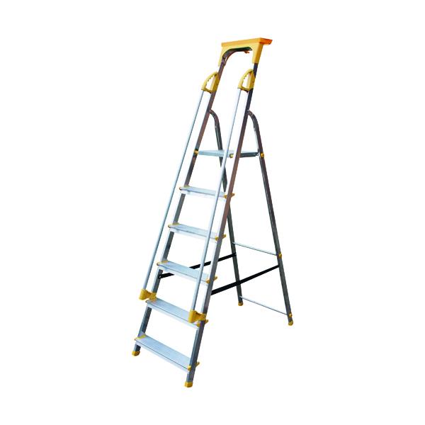 Aluminium Safety Platform Steps 6 Tread 405014