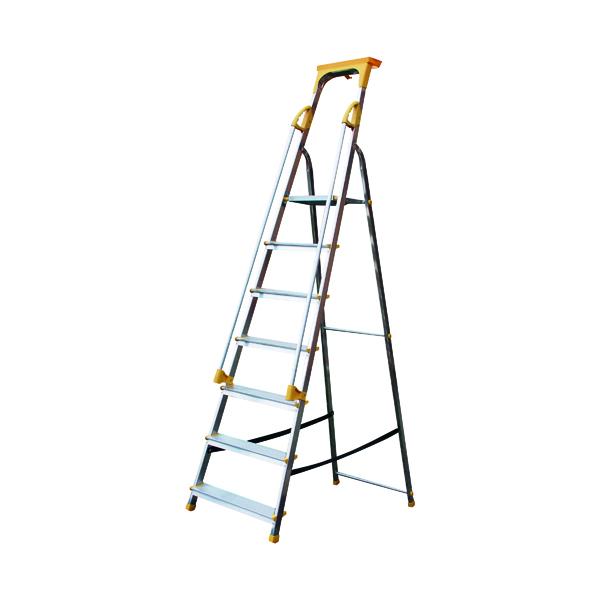 Aluminium Safety Platform Steps 7 Tread 405015