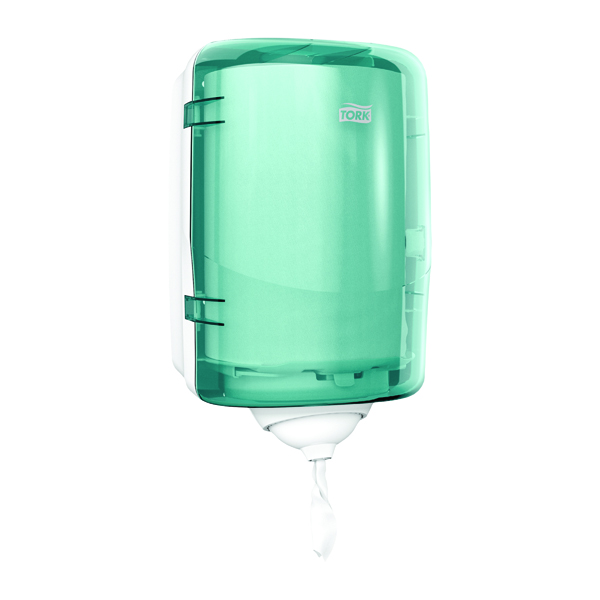 Image for Tork Reflex M3 Mini Centrefeed Dispenser Turquoise 473167