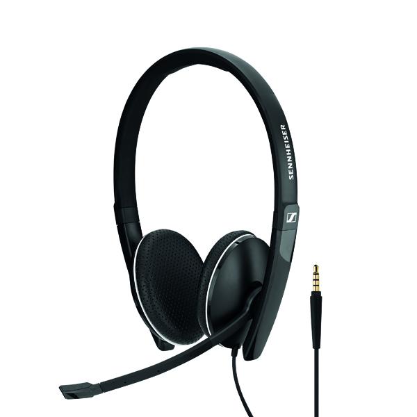 Sennheiser USB SC165 Binaural Headset Black 508317