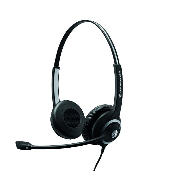 Sennheiser SC260 Binaural Headset Noise Cancelling Microphone 504402