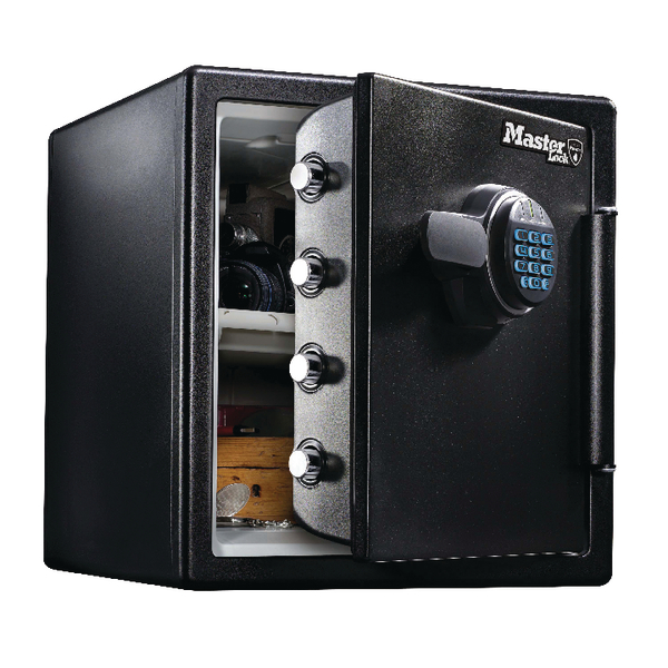 Image for Master Lock Fire-Safe Water Resistant Safe Electronic Lock 34.8 Litres LFW123FTC