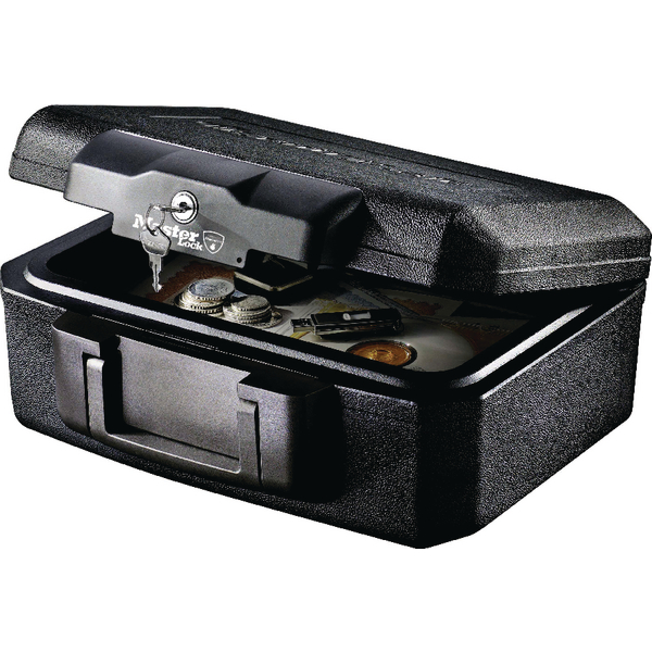 Image for Master Lock Fire Resistant Chest 5 Litre Black L1200
