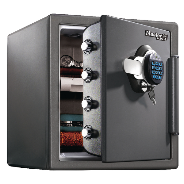 Image for Master Lock 120 Fire-Safe Water Resistant XL 34.8 Litres Black LTW123GTC