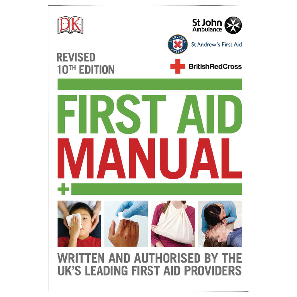Image for St John Ambulance First Aid Manual 10th Edition P91119 (1)