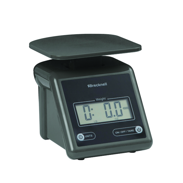 Salter Grey Compact Postal Scale (Displays weight in ib,oz,kg and grams, max weight 3.2kg) PS7