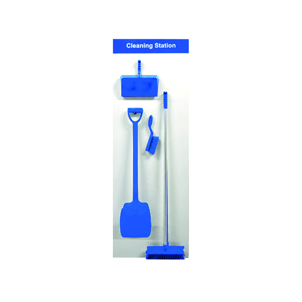 Image for Spectrum Industrial Shadowboard Cleaning Station A Blue SB-BD01-BL