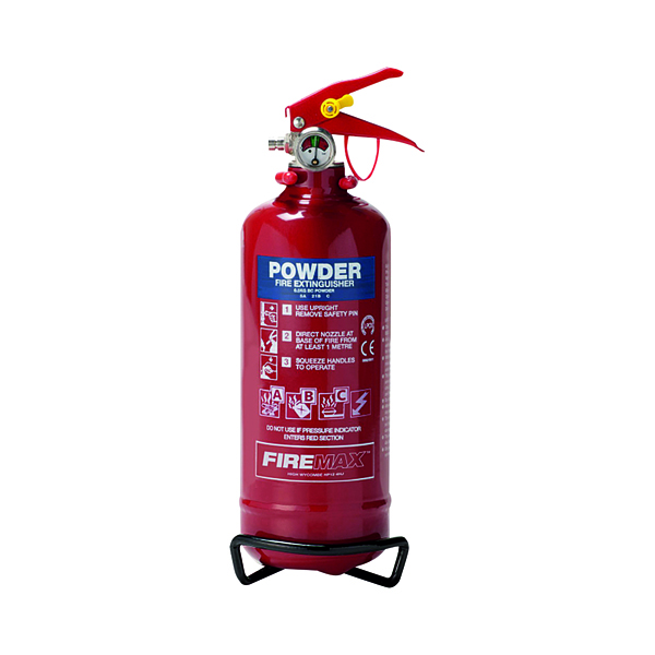 Spectrum Industrial Fire Extinguisher ABC Powder 800g 14365