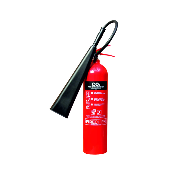 Spectrum Industrial Fire Extinguisher CO2 5kg 14358