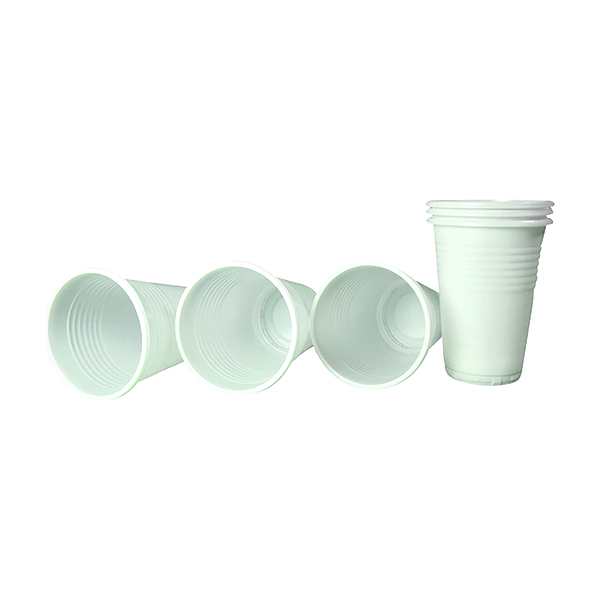 Seco Biodegradable Plastic Cups 7oz (Pack of 100) BC7-WH
