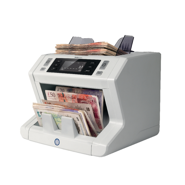 Safescan 2685-S Mixed Bank Note Counter and Counterfeit Detector 112-0511