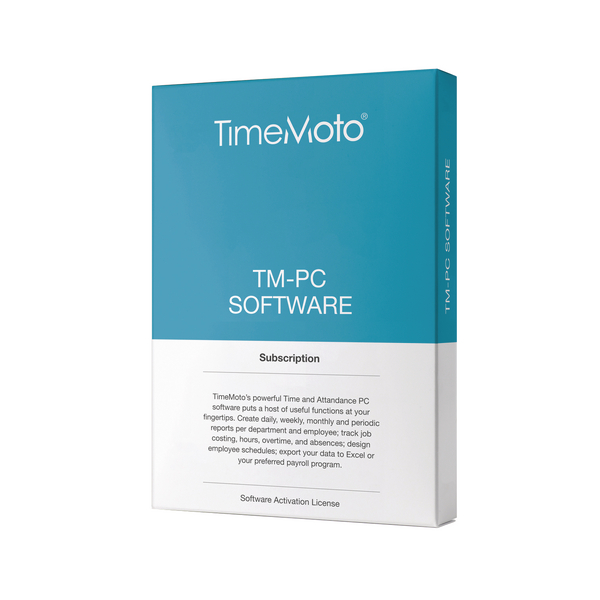Safescan TimeMoto PC Software (Retail Pack) 139-0601
