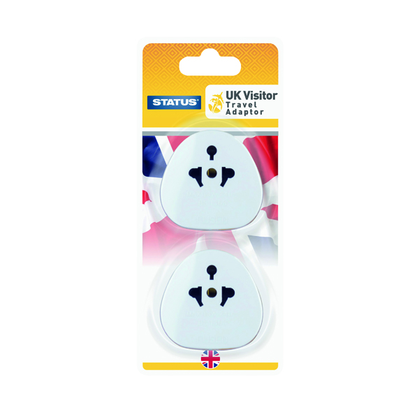 Status UK Travel Adaptor (Pack of 4)