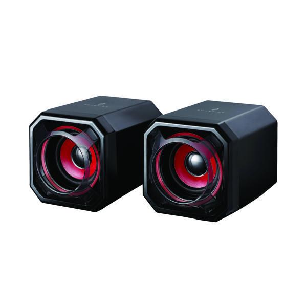 SureFire Gator Eye Gaming Speakers Red 48820