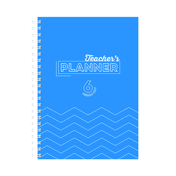 Silvine Academic Planner and Record A4 Blue 40 Name EX202