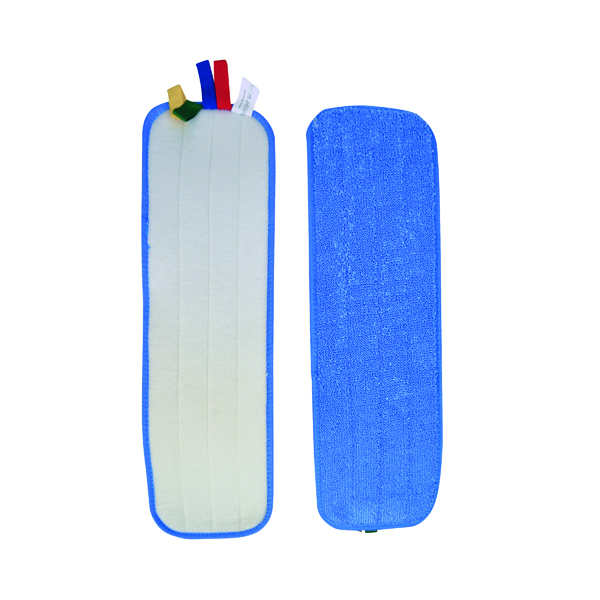 SYR Rapid Mop Microfibre Flat Mop (Pack of 10) 993103