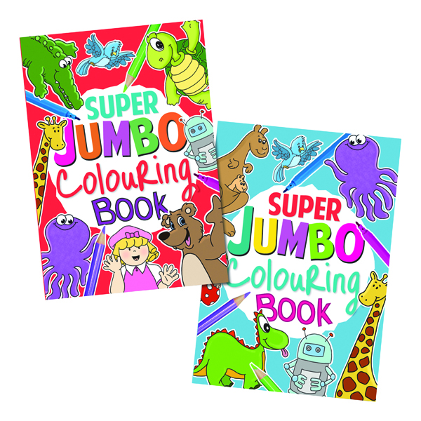 Artbox Jumbo Colouring Book (Pack of 6) 4049