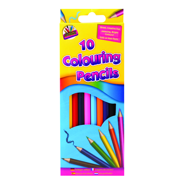 Image for Artbox 10 Full Size Colour Pencils (Pack of 12) 5120