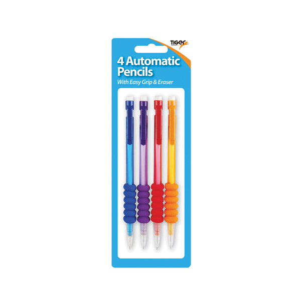 Tiger Mechanical Pencils HB Assorted (Pack of 48) 301663