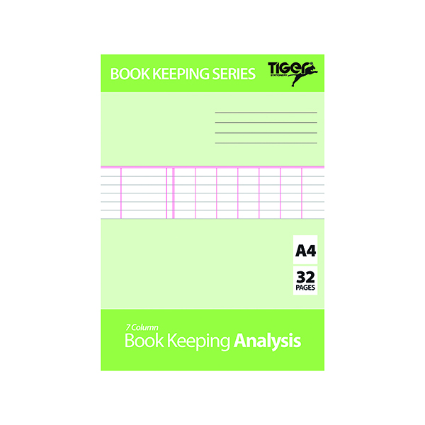 Image for Book Keeping Book Analysis (Pack of 6) 302298
