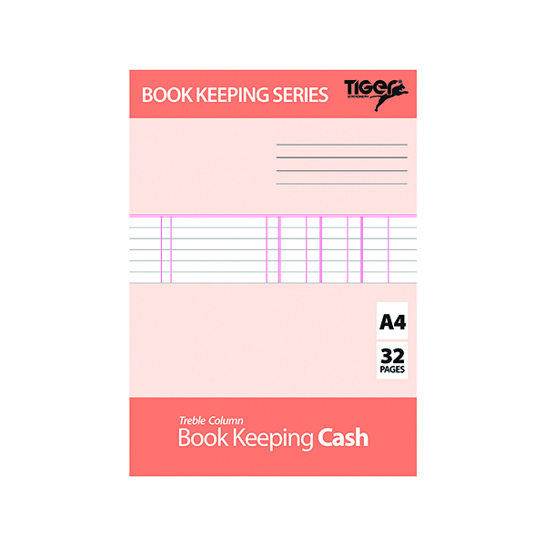Image for Book Keeping Cash Book A4 (Pack of 6) 302299