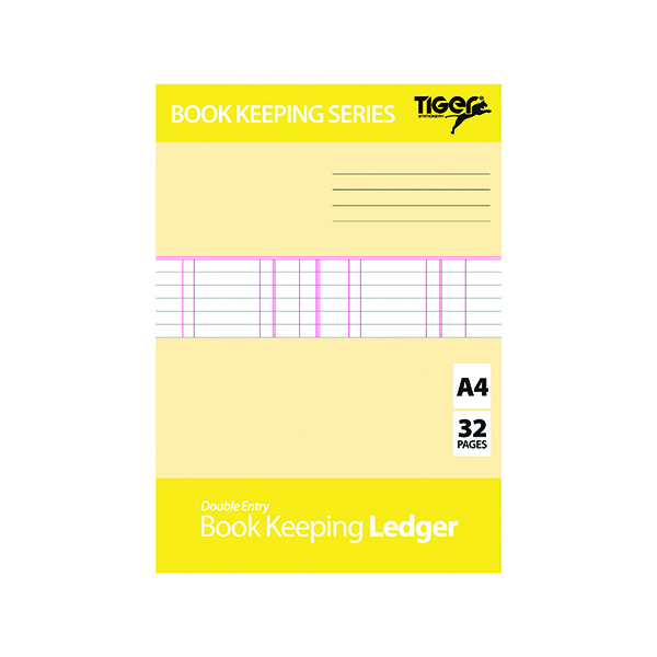Image for Book Keeping Ledger (Pack of 6) 302300
